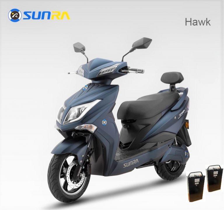 Ηλεκτρικό Σκούτερ Sunra Hawk Plus 2